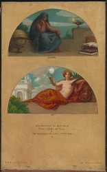The Progress of Civilization: Science and Art (mural study, State Capitol, Des Moines, Iowa)
