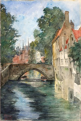 On the Canal, Bruges