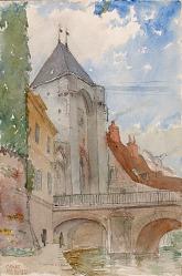 Bridge at Moret, France