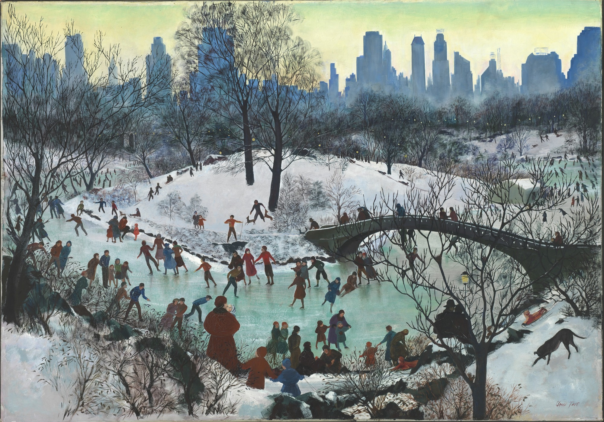 images for Skating in Central Park