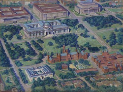 (Aerial View of the Smithsonian)