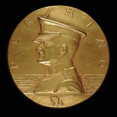 General John J. Pershing Medal (obverse)