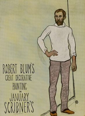 Robert Blum's/Great Decorative/Painting/In/January/Scribner's.