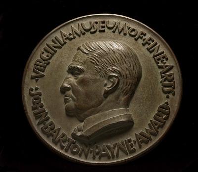 John Barton Payne Award, Virginia Museum of Fine Arts, obverse
