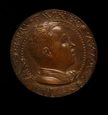 Barry Faulkner Portrait Medal