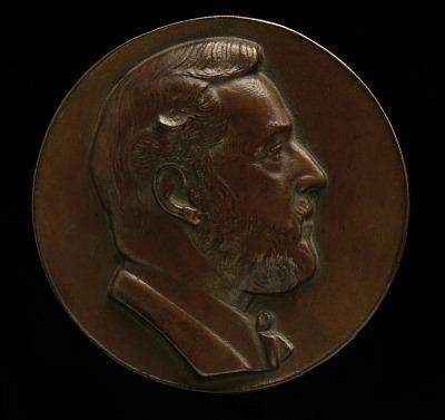 Albert Gallatin Portrait Medal