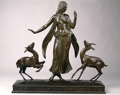 Dancer and Gazelles