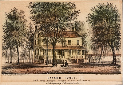 Bayard House, 110th St. Harlem between 1st and 2nd Avenue