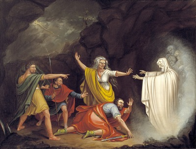 Saul and the Witch of Endor