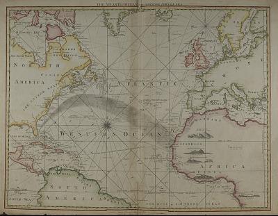 The Atlantic Ocean (map)