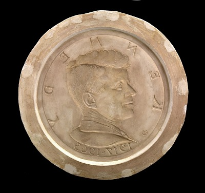 John F. Kennedy Medal (obverse)