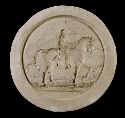 R. E. Lee on Horseback