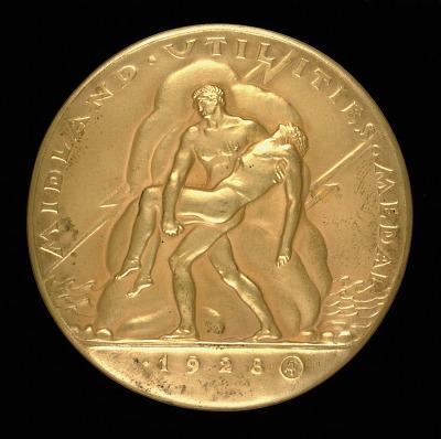 Midland Utilities Medal (obverse)