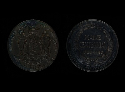 Maine Centennial Half Dollar (1820-1920)