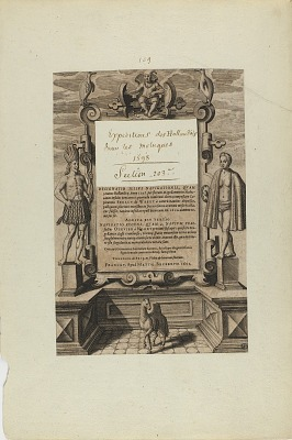(Title Page) (from book, Americae)