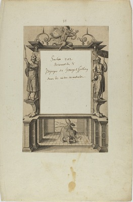 (Title Page) (from book, Indiae Orientalis, Part Seven)