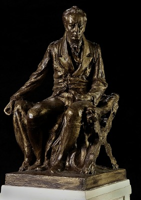 Model for Seated Statue of James Smithson