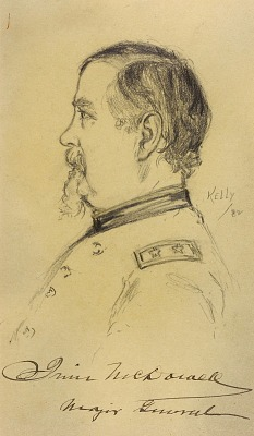 Major General Irvin McDowell