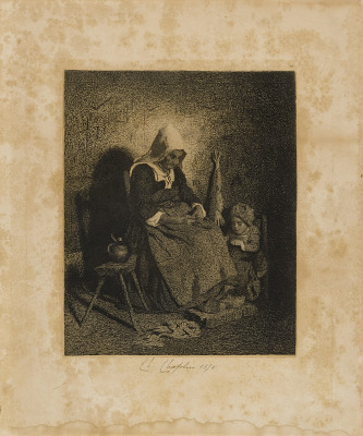 Old Woman Seated
