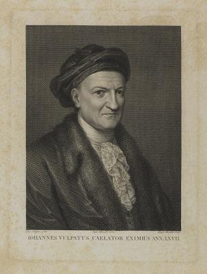 Johannes Vulpatus Caelator Eximus Ann. LXVII