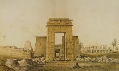 Karnak, Vue Prise du Sud