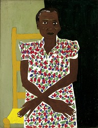 Woman in Calico