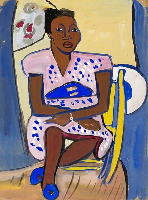 Woman Seated--Mary Jane