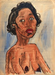 Female Nude--Portrait Bust