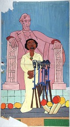 What makes you say that?: Marian Anderson in Concert at the Lincoln Memorial  by Ashley Naranjo