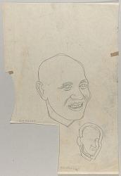 Head of Smiling Man
