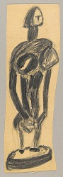 African Sculpture--Figure of a Woman (or) Study of a Bamana Figure