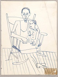 Woman with Child in Rocking Chair