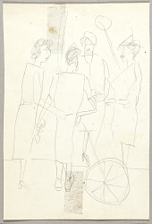 Four Women Standing