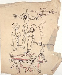 Crucifixion Sketches