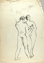 Nude Man and Woman