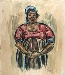 Arab Woman, Kairouan