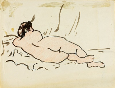 Reclining Nude, Back View