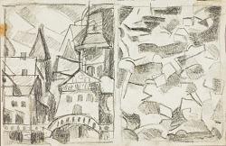 City Scene--Abstract