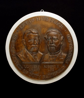 Civil War Centennial Medal (design for obverse)