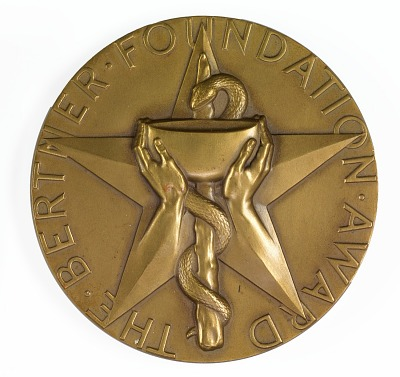 Bertner Foundation Award Medal for Outstanding Achievement in the Field of Cancer Research