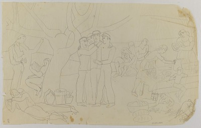 (Untitled--Picnic Scene)