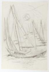 Sketch of Sailboats
