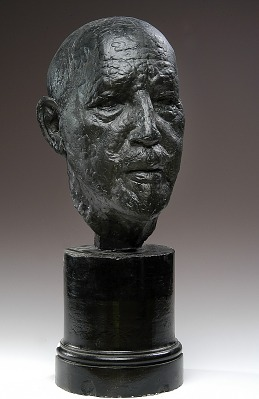 Head of Dr. W.E.B. Dubois