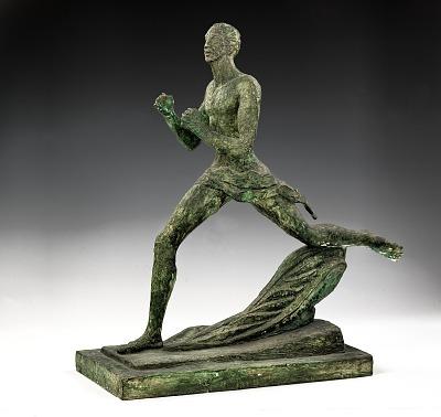 Kiener Memorial, (Long Distance Runner) or (Olympic Runner)