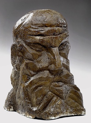 Study for Head of Moses