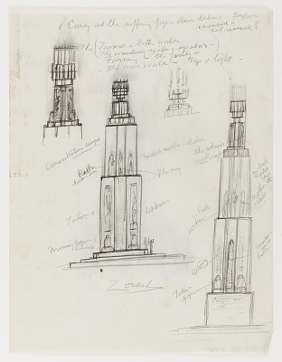 (Untitled) (study for Monument to Six Million Jews Destroyed in Germany by the Nazis) #2