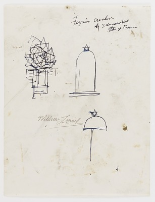 (Untitled--Star of Dome) (study for the Monument to Six Million Jews Destroyed in Germany by the Nazis) #11
