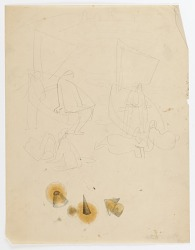 (Untitled--Figures and Sailboats)
