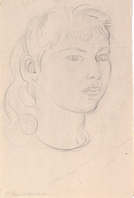 Myra (study for granite head)