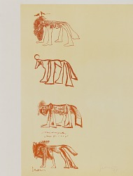 Four Sketches of Animals